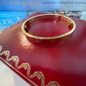 SOLD: Rose gold Cartier bracelet